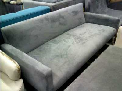 Banquette design tissu gris d 39 occasion - Magasin tissu nimes ...