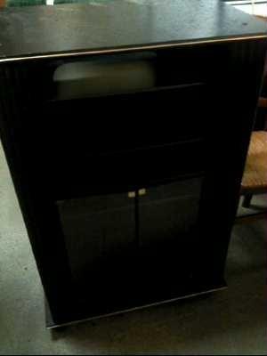Meuble tv hifi noir d 39 occasion for Meuble hifi noir