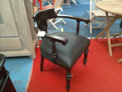 Chaise bureau acajou d 39 occasion for Meuble bureau wavre